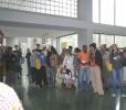 Receção de participantes